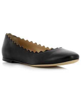 Lauren smooth leather ballet flats CHLOE
