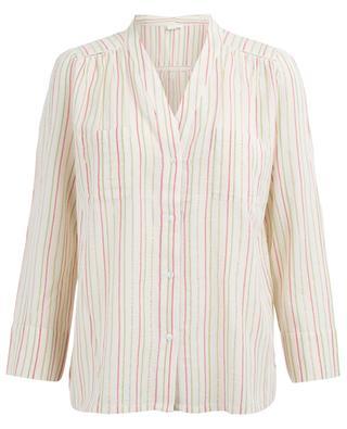 Gestreiftes Hemd aus Baumwollmix Consuela PABLO