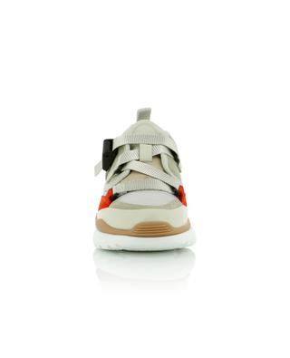 Sonnie canvas and suede sneakers CHLOE
