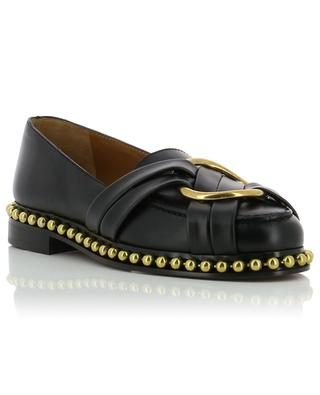Studded leather loafers CHLOE