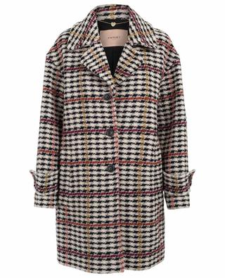 Cotton and wool blend coat TWINSET