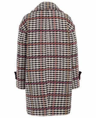 Manteau en coton et laine mélangés TWINSET