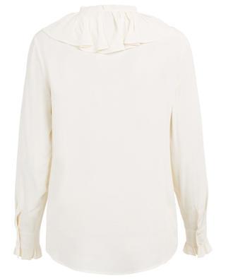 Breezy acetate and silk shirt TWINSET