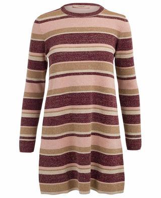 Kurzes Kleid aus Lurex TWINSET