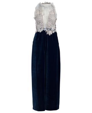 Combi-pantalon en velours Holly Blue EZGI CINAR