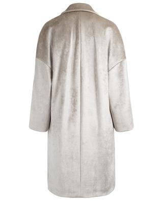 Long manteau en velours BRUNELLO CUCINELLI