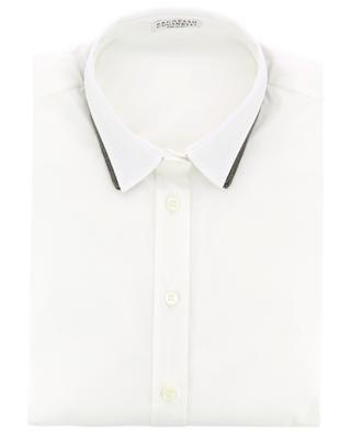 Hemd aus Baumwollmischgewebe BRUNELLO CUCINELLI
