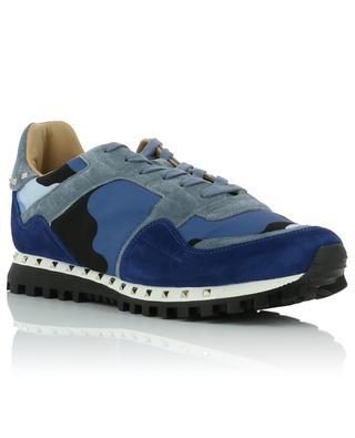 Sneakers aus Wildleder und Nylon Camouflage VALENTINO
