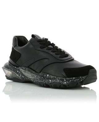 Bounce leather and suede sneakers VALENTINO