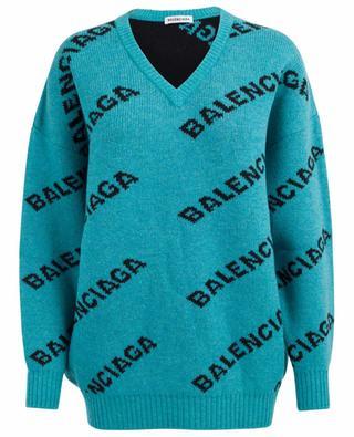Pull jacquard oversize BALENCIAGA