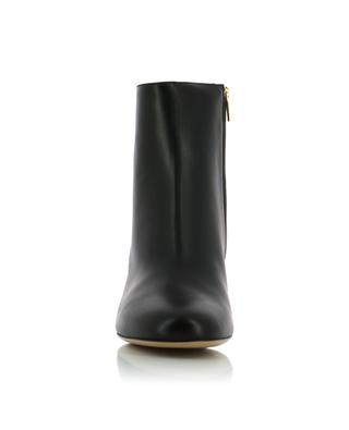 Hollow heel leather ankle boots SALVATORE FERRAGAMO