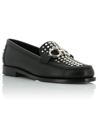 Gancini studded loafers SALVATORE FERRAGAMO