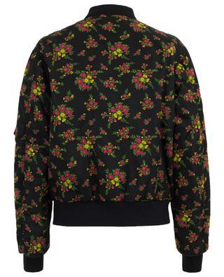 Jacke aus Nylon Floral Bouquet GUCCI