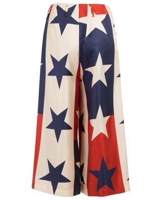 Star Pattern silk culottes GUCCI