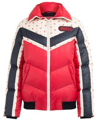 Gucci Patch down jacket GUCCI