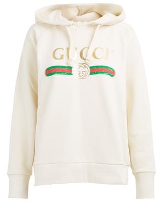 Sweatshirt im Used-Look Blind For Love GUCCI