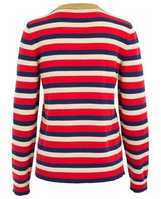 Striped cotton jumper GUCCI