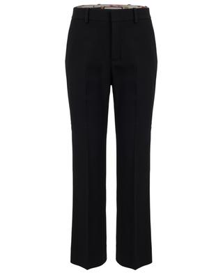 Skinny flare viscose trousers GUCCI