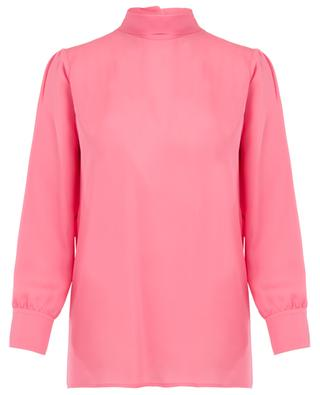 Pussy bow silk blouse GUCCI