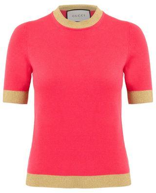 Pullover aus Kaschmir und Seide GUCCI