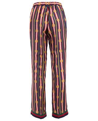 Pantalon style pyjama Square GG Belts GUCCI