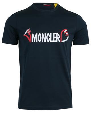 T-shirt en coton imprimé MONCLER