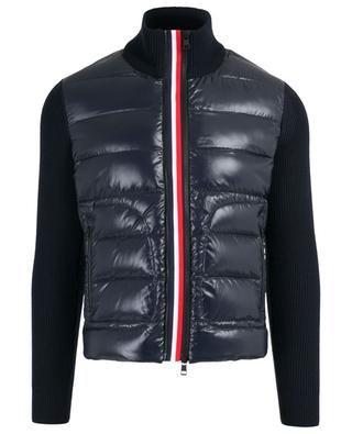 Bi-material quilted jacket MONCLER