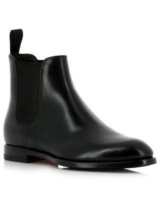 Leather Chelsea ankle boots SANTONI