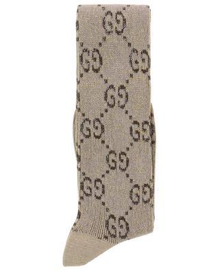 Chaussettes en coton mélangé GG GUCCI