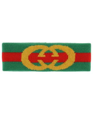 GG wool headband GUCCI