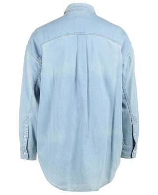 Langarm-Hemd aus Denim PABLO
