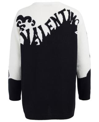 Valentino Waves cashmere jumper VALENTINO