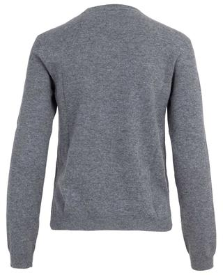 Virgin wool and cashmere jumper with heart VALENTINO