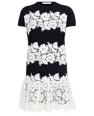 Floral lace embroidered dress VALENTINO