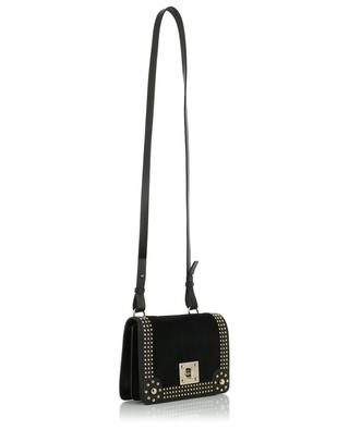 Leather shoulder bag with calf hair RED VALENTINO
