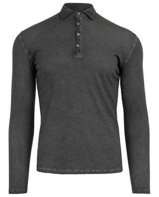 Cotton and cashmere polo shirt MAJESTIC FILATURES