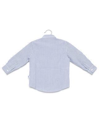 Gestreiftes Hemd aus Baumwolle IL GUFO