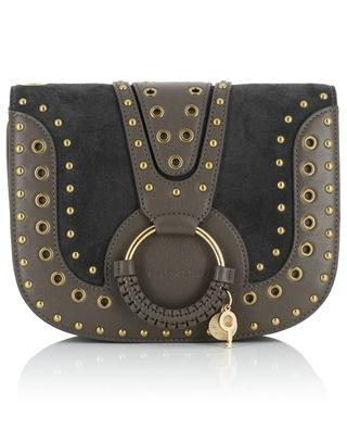 Hana suede and leather shoulder bag SEE BY CHLOE