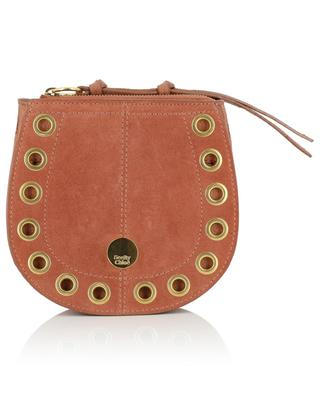 Kriss Mini leather and suede hobo bag SEE BY CHLOE