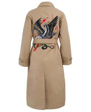 Eagle embroidered trench coat ZOE KARSSEN
