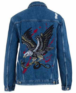 Eagle embroidered denim jacket ZOE KARSSEN