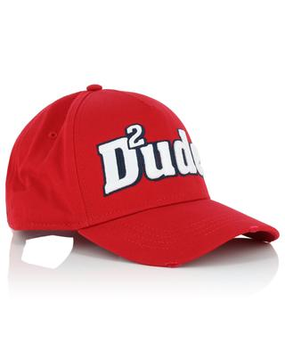 Dude2 distressed baseball cap DSQUARED2