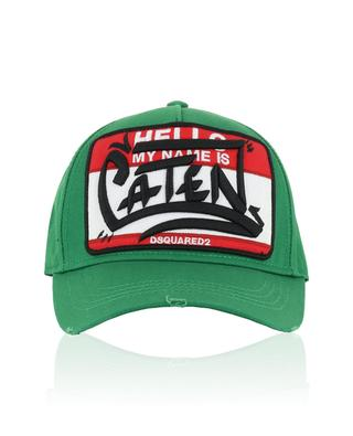 My Name is Caten baseball cap DSQUARED2
