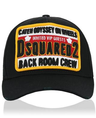 Distressed baseball cap DSQUARED2