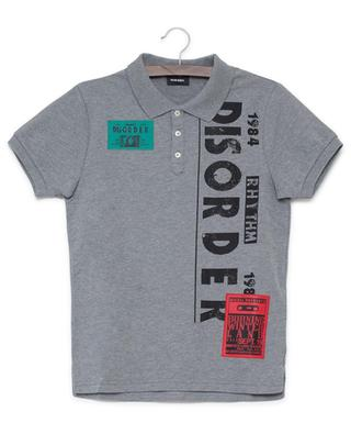 Tapir cotton blend polo shirt DIESEL