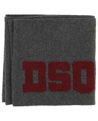 DSQ2 wool scarf DSQUARED2