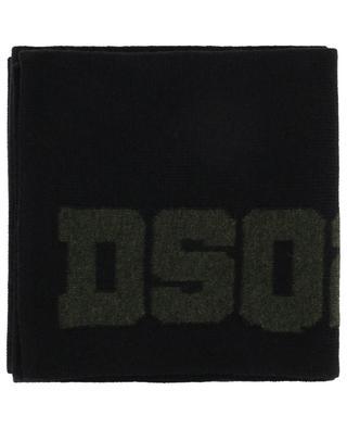 DSQ2 wool scarf DSQUARED2