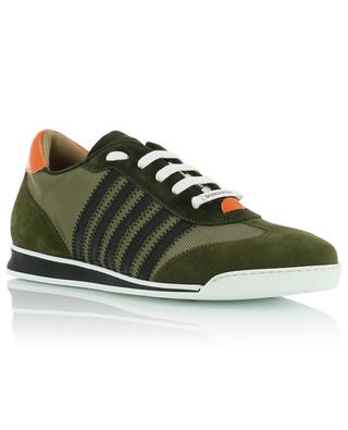 New Runner fabric, suede and leather sneakers DSQUARED2
