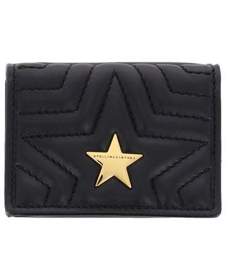 Brieftasche aus Kunstleder Stella Star Mini STELLA MCCARTNEY