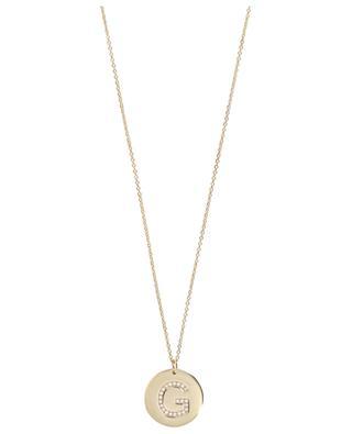 Initial G necklace AVINAS